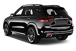Car pictures of rear three quarter view of a 2020 Mercedes Benz GLE AMG-Line 5 Door SUV angular rear