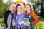 At the inaugural CBS The Green 5k and 3k fun run on Sunday were l-r  Rebecca Poultney, Tara Foran and Ava Kelleher