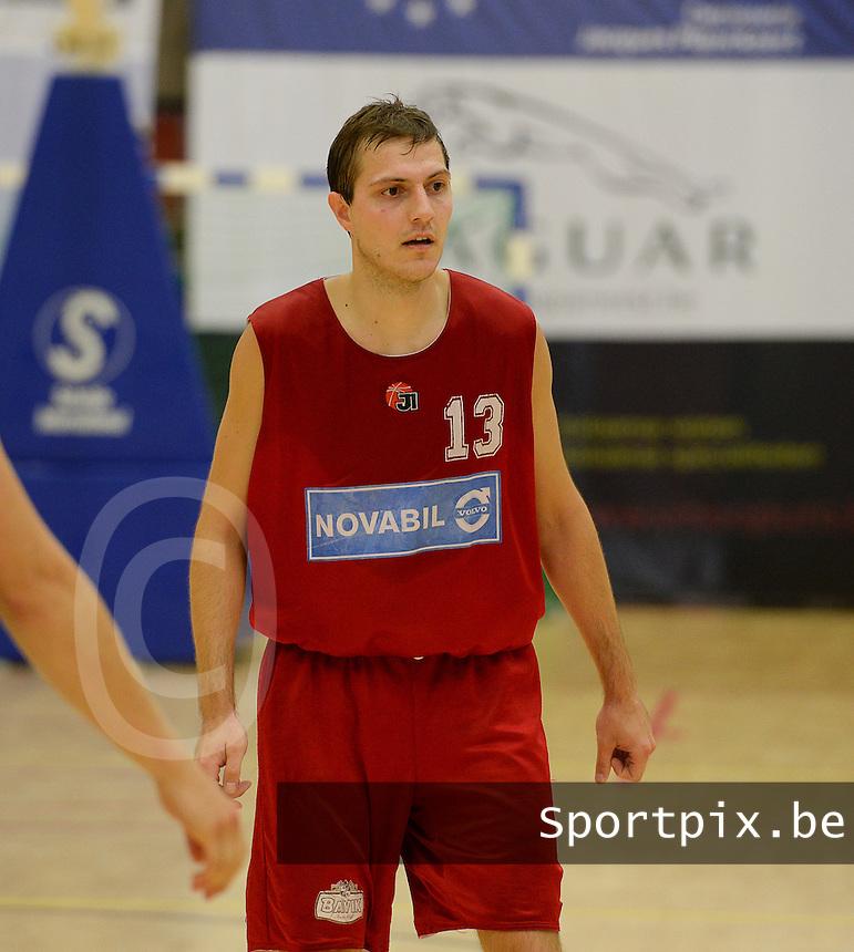 Kortrijk Sport CB : Robrecht Grymonprez<br /> foto VDB / BART VANDENBROUCKE
