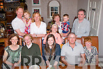 Eleanor Murphy, Clogher Lí, Tralee celebrated her 18th birthday last Friday evening in Bella Bia, Tralee (seated) l-r: Joan, Joan Snr, Eleanor, John and Diarmuid Murphy. Back l-r: Seanie and Lara O'Dowd, Maureen Fitzgerald, Padraig O'Dowd with Mossie Fitzgerald.