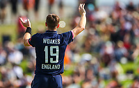 England's Chris Woakes.  Black Caps v England, second international cricket ODI, Bay Oval, Tauranga, New Zealand. Wednesday, 28 February, 2018. Copyright photo: John Cowpland / www.photosport.nz