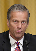 "United States Senator John Thune (Republican of South Dakota) makes remarks during the US Senate Committee on Finance ""Hearing to Consider the Graham-Cassidy-Heller-Johnson Proposal"" on the repeal and replace of the Affordable Care Act (ACA) also known as ""ObamaCare"" in Washington, DC on Monday, September 25, 2017. <br /> Credit: Ron Sachs / CNP"