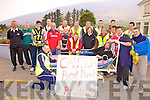 On Saturday last, Iveragh Rugby Club took part in a 13 mile bed push from Deelis to Waterville to raise funds for Cahersiveen Hospice and the newly formed Iveragh Rugby Club.  Chairman Nathan Sheehan said: 'I would like to thank all the members who took part and and to all who supported us along the route'.