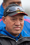 Ardmore Marist Assistant coach Pat Flavell. Counties Manukau Premier Club Rugby game between Ardmore Marist and Pukekohe played at Bruce Pulman Park on Saturday April 17th..Pukekohe won the game 25 - 0 after leading 15 - 0 at halftime.