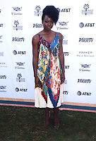 04 January 2019 - Palm Springs, California - Danai Gurira. Variety 2019 Creative Impact Awards and 10 Directors to Watch held at the Parker Palm Springs during the 30th Annual Palm Springs International Film Festival. Photo Credit: Faye Sadou/AdMedia