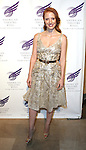 Jessica Chastain attends the American Theatre Wing's annual gala at the Plaza Hotel on Monday Sept. 24, 2012 in New York.