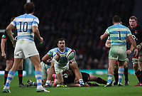Argentina's Martin Landajo<br /> <br /> Photographer Rachel Holborn/CameraSport<br /> <br /> International Rugby Union Friendly - Old Mutual Wealth Series Autumn Internationals 2017 - England v Argentina - Saturday 11th November 2017 - Twickenham Stadium - London<br /> <br /> World Copyright &copy; 2017 CameraSport. All rights reserved. 43 Linden Ave. Countesthorpe. Leicester. England. LE8 5PG - Tel: +44 (0) 116 277 4147 - admin@camerasport.com - www.camerasport.com