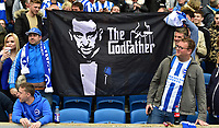 Brighton Fans<br /> <br /> Brighton 2 - 1 Wigan<br /> <br /> Photographer David Horton/CameraSport<br /> <br /> The EFL Sky Bet Championship - Brighton &amp; Hove Albion v Wigan Athletic - Monday 17th April 2017 - American Express Community Stadium - Brighton<br /> <br /> World Copyright &copy; 2017 CameraSport. All rights reserved. 43 Linden Ave. Countesthorpe. Leicester. England. LE8 5PG - Tel: +44 (0) 116 277 4147 - admin@camerasport.com - www.camerasport.com