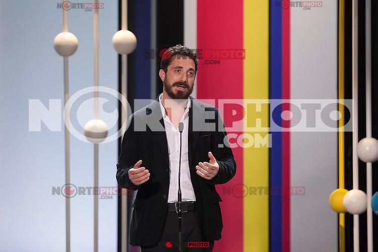 Pablo Larrain during the 63rd Donostia Zinemaldia opening ceremony (San Sebastian International Film Festival) in San Sebastian, Spain. September 18, 2015. (ALTERPHOTOS/Victor Blanco) /NortePhoto.com