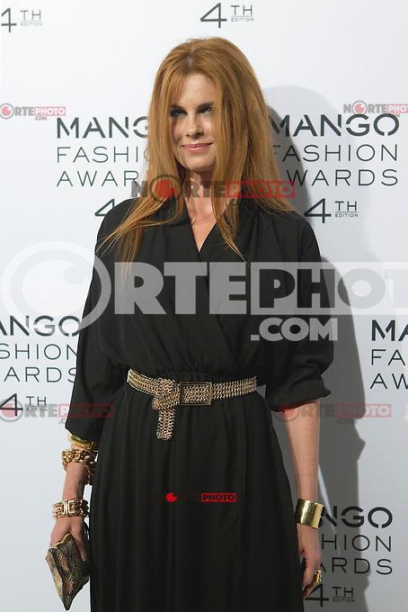 Olivia de Borbón attends the award ceremony of the Mango Fashion Awards,  Barcelona Spain, May 30, 2012