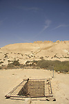 Israel, Negev, a water cistern at the foothill of Tel Nitzana