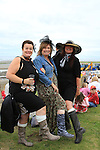 Linsie Matthews, Kathleen Horsburgh and Jane Chapman  at the 2011 Laytown races.(Photo credit should read Jenny Matthews www.newsfile.ie)....This Picture has been sent you under the conditions enclosed by:.Newsfile Ltd..The Studio,.Millmount Abbey,.Drogheda,.Co Meath..Ireland..Tel: +353(0)41-9871240.Fax: +353(0)41-9871260.GSM: +353(0)86-2500958.email: pictures@newsfile.ie.www.newsfile.ie.