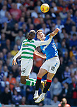 12.05.2019 Rangers v Celtic: Nikola Katic and Odsonne Edouard