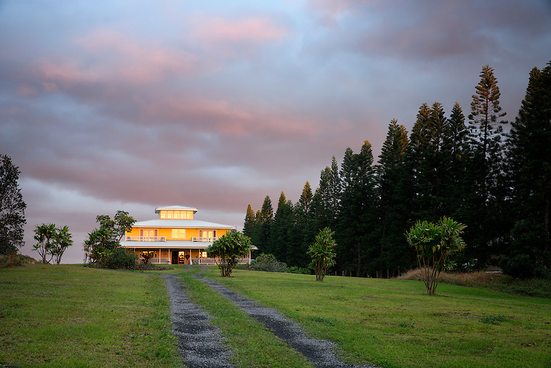 Kalaekilohana bed and breakfast. with rosd. HJawaii, (The Big Island)