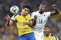 FUSSBALL WM 2014 VORRUNDE  Ecuador - Frankreich