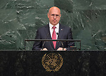 72 General Debate &ndash; 22 September <br /> <br /> His Excellency Pavel Filip, Prime Minister of the Republic of Moldova