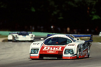 ELKHART LAKE, WI - AUGUST 24: Bobby Rahal drives the Team Zakspeed USA Ford Mustang Probe during the Löwenbräu Classic IMSA GT race at the Road America track  near Elkhart Lake, Wisconsin, on August 24, 1986.