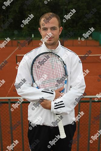 2009-06-21 / Tennis / Interclub Kromveld - Ter Eiken / Jonas Hemgenbergs (Ter Eiken)..Foto: Maarten Straetemans (SMB)