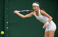 Ana Ivanovic<br /> <br /> Tennis - The Championships Wimbledon  - Grand Slam -  All England Lawn Tennis Club  2013 -  Wimbledon - London - United Kingdom - Monday 24th June  2013. <br /> &copy; AMN Images, 8 Cedar Court, Somerset Road, London, SW19 5HU<br /> Tel - +44 7843383012<br /> mfrey@advantagemedianet.com<br /> www.amnimages.photoshelter.com<br /> www.advantagemedianet.com<br /> www.tennishead.net