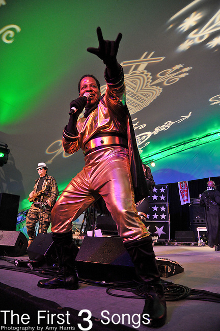 Bootsy Collins (born William Collins) performs during The Voodoo Experience at City Park in New Orleans, Louisiana.