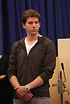 Stark Sands performing in the Sneek Peek Press Preview of the New Broadway Musical 'Kinky Boots' at the New 42nd Street Studios in New York City on September 14, 2012.