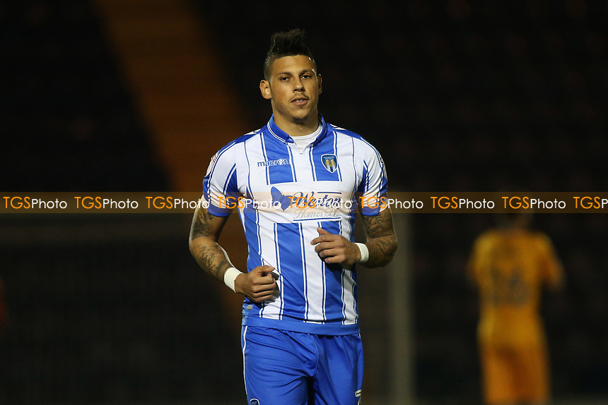 Matthew Briggs of Colchester United during Colchester United vs Mansfield Town, Sky Bet EFL League 2 Football at the Weston Homes Community Stadium on 14th March 2017