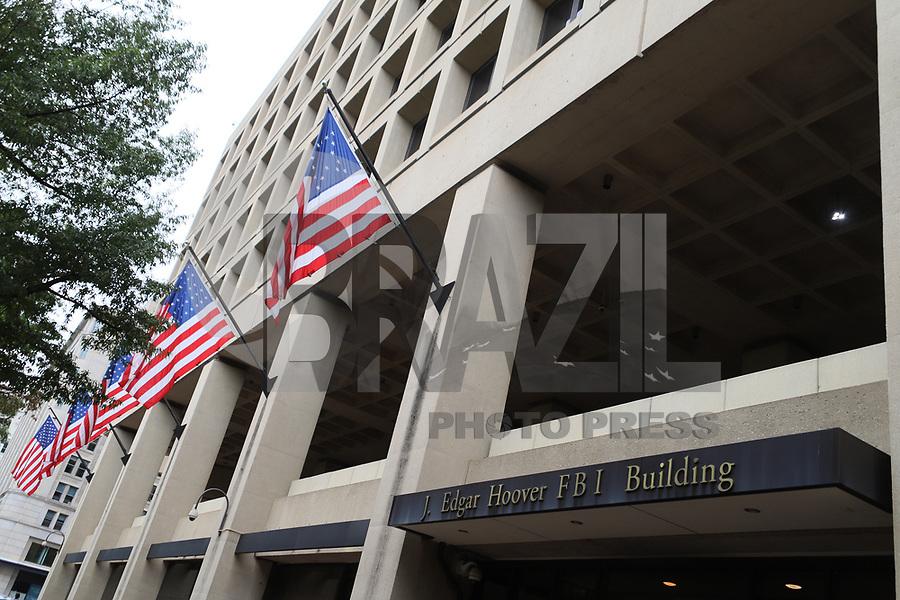 WASHINGTON DC, EUA, 08.10.2019 - POLITICA-WASHINGTON DC - Sede do FBI, Federal Bureau of Investigation ou Departamento Federal de Investigação, na cidade de Washington DC, capital dos Estados Unidos, nesta terça-feira, 8. (Foto Charles Sholl/Brazil Photo Press/Folhapress)