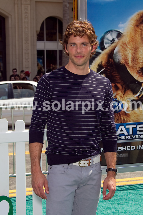 **ALL ROUND PICTURES FROM SOLARPIX.COM**.**SYNDICATION RIGHTS FOR UK, AUSTRALIA, DENMARK, PORTUGAL, S. AFRICA, SPAIN & DUBAI (U.A.E) & ASIA (EXCLUDING JAPAN) ONLY**.Cats & Dogs: The Revenge of Kitty Galore, Los Angeles Premiere - Arrivals, Grauman's Chinese Theatre, Hollywood, CA, USA, 25 July 2010.This pic:  James Marsden.JOB REF: 11756   PHZ  hatcher   DATE: 25_07_2010.**MUST CREDIT SOLARPIX.COM OR DOUBLE FEE WILL BE CHARGED**.**MUST NOTIFY SOLARPIX OF ONLINE USAGE**.**CALL US ON: +34 952 811 768 or LOW RATE FROM UK 0844 617 7637**