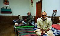 Delhi / India.Malati di lebbra in cura presso il Nirmala Hospital..Foto Livio Senigalliesi..Delhi / India.Leprosy patients being treated at the Nirmala hospital in Delhi..Photo Livio Senigalliesi.