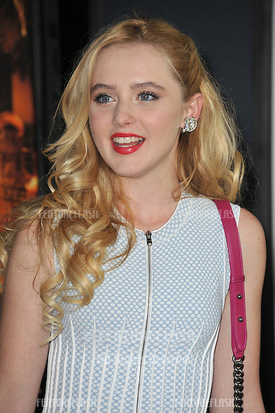 """Katherine Newton at the Los Angeles premiere of """"Fun Size"""" at the Paramount Theatre, Hollywood..October 25, 2012  Los Angeles, CA.Picture: Paul Smith / Featureflash"""