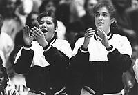 1993: Amanda Renteria and Amy Wustefeld.