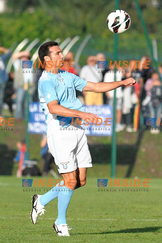 Lionel Scaloni Lazio.Auronzo di Cadore 25/7/2012.Football Calcio 2012 / 2013 .Amichevole Friendly Match.SS Lazio Vs AC Siena.Foto Insidefoto