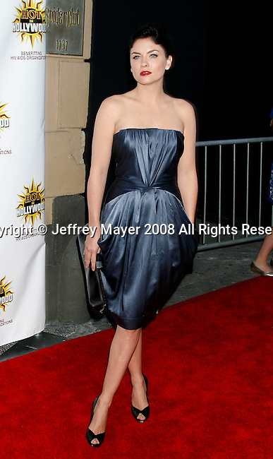 HOLLYWOOD, CA. - August 16: Actress Jodi Lynn O'Keefe arrives at the third annual Hot in Hollywood held at Avalon on August 16, 2008 in Hollywood, California.
