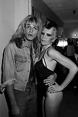 DAVID LEE ROTH AND WENDY O WILLIAMS, BACKSTAGE 1980, NEIL ZLOZOWER