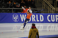 SPEEDSKATING: BERLIN: Sportforum Berlin, 27-01-2017, ISU World Cup, Kjeld Nuis (NED), ©photo Martin de Jong
