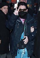 NEW YORK, NY - JANUARY 3: Corey Feldman seen at Good Morning America in New York City on January 3, 2018. <br /> CAP/MPI/RW<br /> &copy;RW/MPI/Capital Pictures