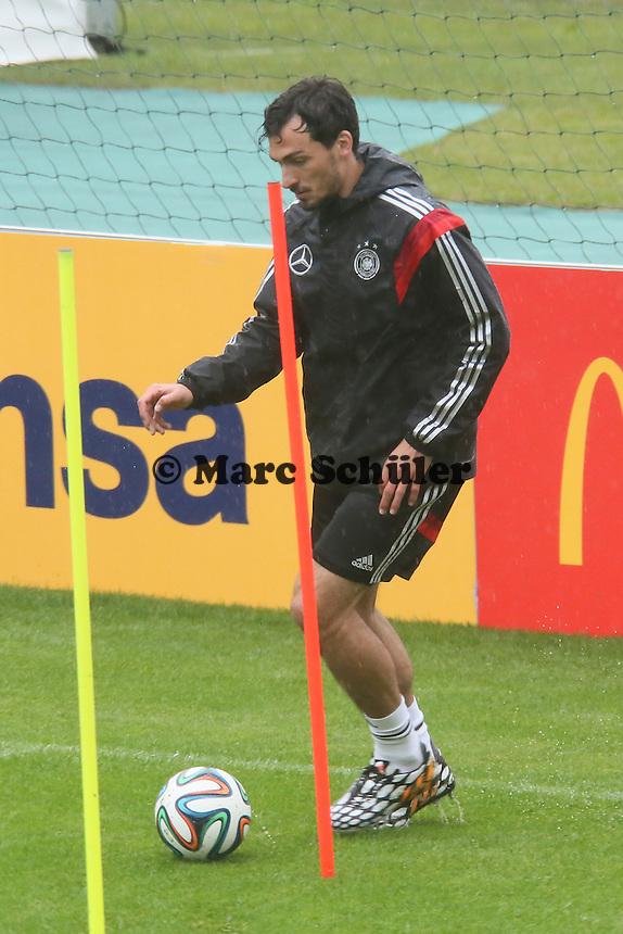Mats Hummels - Training der Deutschen Nationalmannschaft  zur WM-Vorbereitung in St. Martin
