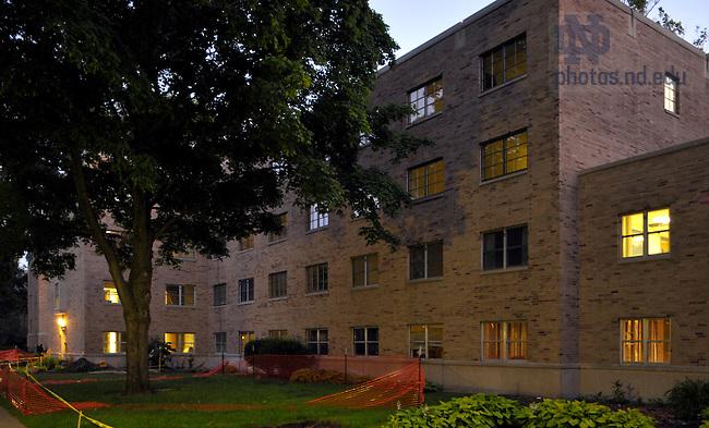 Keenan Hall..Photo by Matt Cashore/University of Notre Dame