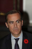November 8, 2012 - Montreal, Quebec, CANADA -MARK J. CARNEY, GOVERNOR OF THE BANK OF CANADA, PRESENTS THE ECONOMIC DEVELOPMENTS AND THE CONDUCT OF MONETARY POLICY  before the Canadian Club of Montreal. November 8, 2012 - Montreal, Quebec, CANADA -MARK J. CARNEY, GOVERNOR OF THE BANK OF CANADA, PRESENTS THE ECONOMIC DEVELOPMENTS AND THE CONDUCT OF MONETARY POLICY  before the Canadian Club of Montreal.