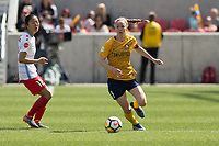 Sandy, UT - Saturday April 14, 2018: Becky Sauerbrunn during a regular season National Women's Soccer League (NWSL) match between the Utah Royals FC and the Chicago Red Stars at Rio Tinto Stadium.