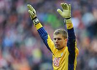 Fussball Bundesliga Saison 2011/2012 9. Spieltag FC Bayern Muenchen - Hertha BSC Berlin Thomas KRAFT (Hertha BSC).