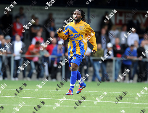 2012-07-12 / Voetbal / seizoen 2012-2013 / SC Merksem / Enoch Oteng..Foto: Mpics.be