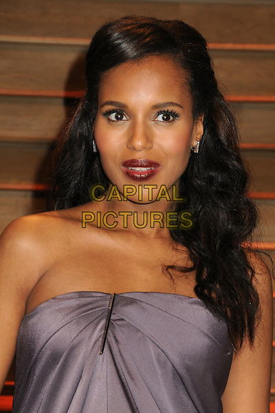 02 March 2014 - West Hollywood, California - Kerry Washington. 2014 Vanity Fair Oscar Party following the 86th Academy Awards held at Sunset Plaza.<br /> CAP/ADM/BP<br /> &copy;Byron Purvis/AdMedia/Capital Pictures