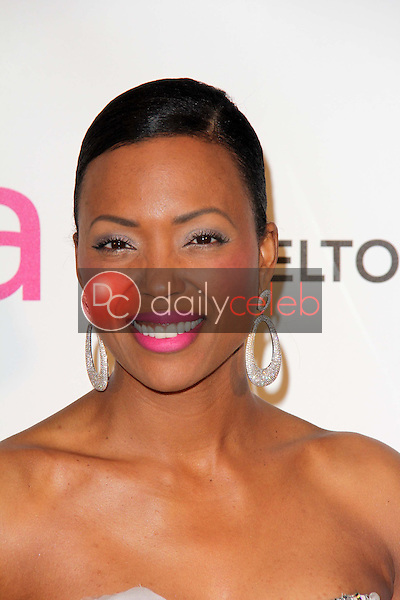 Aisha Tyler<br /> Melanie Brown<br /> at the Elton John Aids Foundation 21st Academy Awards Viewing Party, West Hollywood Park, West Hollywood, CA 02-24-13<br /> David Edwards/DailyCeleb.com 818-249-4998