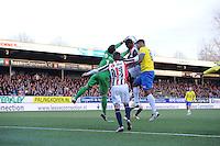 VOETBAL: LEEUWARDEN: 21-04-2016, Cambuurstadion, SC Cambuur - Willem II, uitslag 1-1, foto Martin de Jong