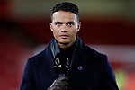 Jermaine Jenas working for Amazon Prime TV during the Premier League match at Bramall Lane, Sheffield. Picture date: 5th December 2019. Picture credit should read: James Wilson/Sportimage