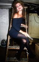 Annie Potts, 1989, Photo By Michael Ferguson/PHOTOlink