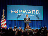 United States President Barack Obama delivers remarks at a campaign event at the Capital Hilton Hotel in Washington, D.C. on Friday, September 28, 2012..Credit: Ron Sachs / Pool via CNP