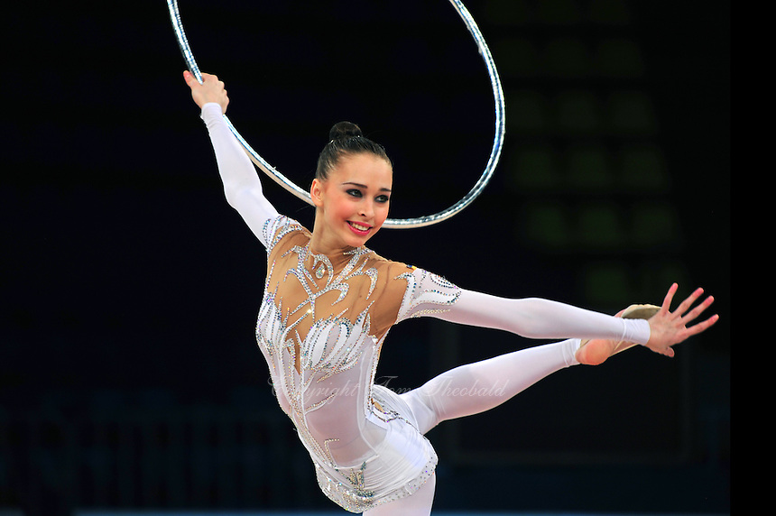 "VIKTORIA SHYNKARENKO of Ukraine performs at 2011 World Cup Kiev, ""Deriugina Cup"" in Kiev, Ukraine on March 05, 2007."
