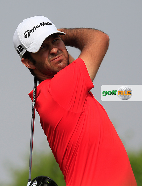 Jorge Campillo (ESP) on the 6th tee during Round 4 of the Abu Dhabi HSBC Championship on Sunday 22nd January 2017.<br /> Picture:  Thos Caffrey / Golffile<br /> <br /> All photo usage must carry mandatory copyright credit     (&copy; Golffile | Thos Caffrey)